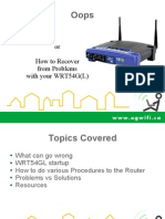 Troubleshooting Linksys Router