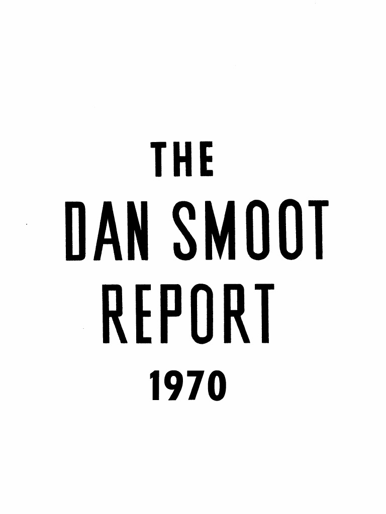 The Dan Smoot Report Vol XVI 1970 Issues 18-52-203pgs POL