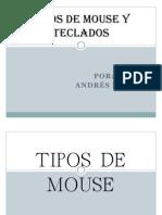 Tipos de Mouse y Teclados