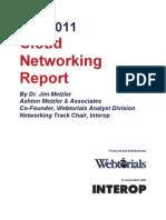 2011 Cloud Networking Whitepaper