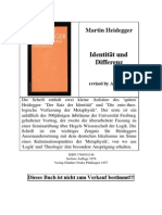(ebook - german) Heidegger, Martin - Identität und Differenz