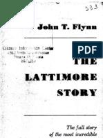 The Lattimore Story John T Flynn 1953 127pgs COM