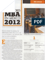 Mejores MBA´s Mexico