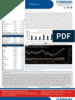 Weekly Market Outlook 25.02.12