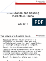 Urbanization and Housing Markets in China