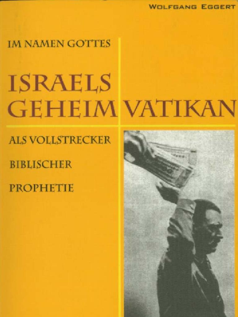 Wolfgang Eggert Israels Geheimvatikan III 2002