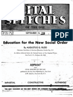 Vital Speeches-Ed for the New Social Order-Rudd-1948-8pgs-EDU