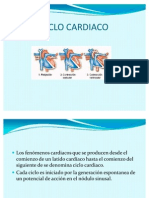Ciclo Cardiaco Equipo 4 Fisologia