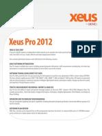 Aexio XeusPro 2012 DataSheet