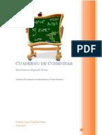 Cuaderno de Consignas Matemáticas 2 Cuarto Bimestre