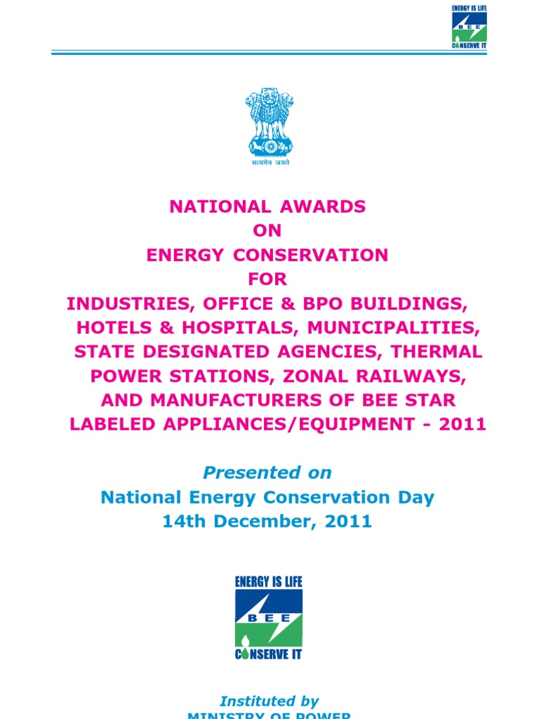 Award book2011 efficient energy use energy conservation fandeluxe Image collections