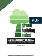 GBI Industrial New Construction (INC) Tool V1.0