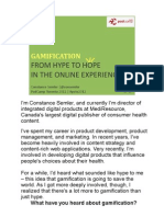 Gamification From Hype to Hope v1