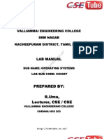 Cs2257 SS Lab Manual