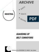 NZ Guarding of Belt Conveyors