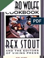The Nero Wolfe Cookbook - Rex Stout