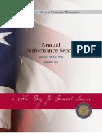 Performance Report 2011
