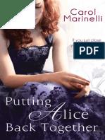 Putting Alice Back Together by Carol Marinelli - Chapter Sampler