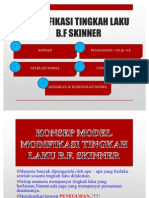 Kebaikan Dan Keburukan Model Modifikasi Tingkah Laku Skinner