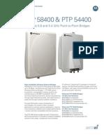 Motorola Canopy Ptp58400 Ptp54400