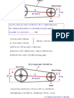 Pulley Convert Calculation