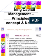 Working-Capital-Management - Principles and Concepts