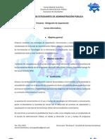 Proyectos - Cursos Informáticos ASEAP