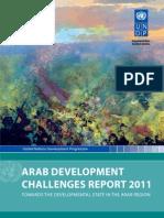Arab Development Challenges Report 2011
