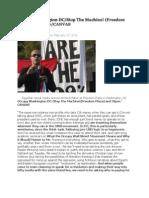 Occupy Washington DC/Stop the Machine! (Freedom Plaza) and Otpor/CANVAS
