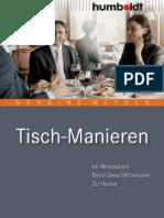 Humboldt Verlag - Tischmanieren (2008)