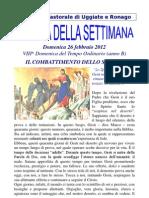 Agenda 25 Febbraio 2012 Bis