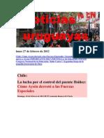 Noticias Uruguayas Lunes 27 de Febrero de 2012