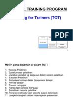 Training of Trainer