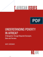 Understanding Poverty in Africa
