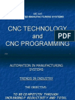 the way to CNC