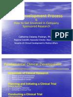 Drug Development Process Cleveland, 6.23.06
