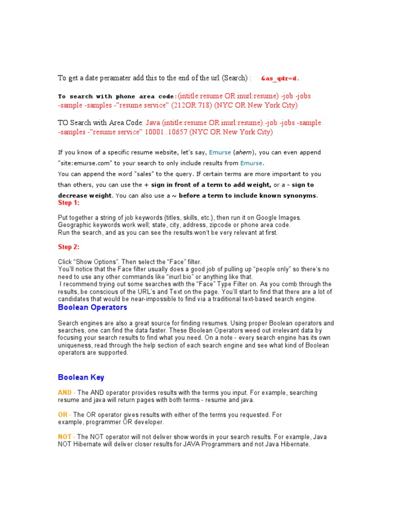 60565429 Boolean Searching Lesson Human Resource Management