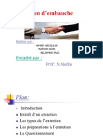 l'Entretien d'Embauche.ppt11