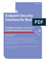 AhnLab Endpoint Brochure