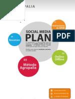 Modelo de Plan de Social Media de Agrupalia