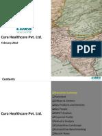 Cura Healthcare Pvt Ltd. - Company Profile
