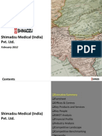 Shimadzu Medical (India) Pvt Ltd. - Company Profile