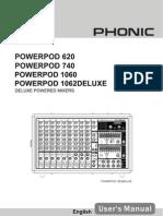 Um Power Pod 620 Power Pod 740 Power Pod 1060 Power Pod 1062 Deluxe En