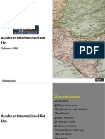 Avishkar International Pvt Ltd. - Company Profile