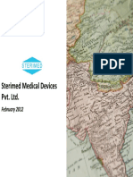 Sterimed Medical Devices Pvt. Ltd - Company Profile