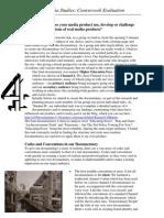 Final Media Evaluation PDF - Kieran Barter