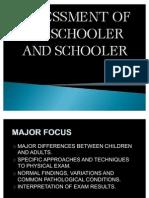 Assessment of Preschooler and Schooler