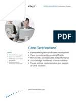 Citrix Certification Program