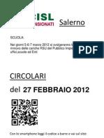 Elezioni RSU 5-6-7marzo 2012