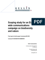 Biodiversity Scoping Study